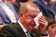 Erdoğan o videoyu görünce gözyaşlarına boğuldu