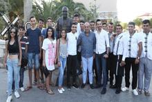 Fatih Terim ile Kavgaya Karışan Selahattin Aydoğdu'nun heykelini diktiler