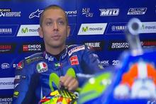 MotoGP'nin rekortmen şampiyonu bacağını kırdı
