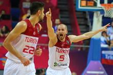 Türkiye-Rusya maçından çarpıcı kareler
