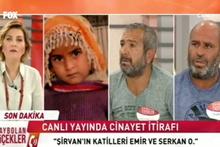 Canlı yayında cinayet itirafı! Babası yerine yanlışlıkla 5 yaşındaki Şirvan'ı vurdular