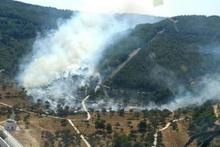 Gelibolu'da orman yangını! Boğaz gemi geçişlerine kapatıldı