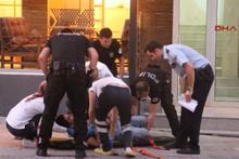 4 katlı binadan atladı, ağır yaralandı