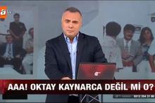 Oktay Kaynarca'dan büyük sürpriz! Haber spikeri oldu