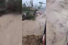 Porto Riko sokakları sular altında kaldı