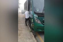 Otobüsün kapısında can verdi