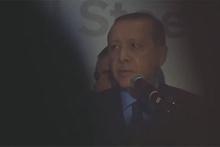 ABD'de Cumhurbaşkanı Erdoğan konuşurken ortalık karıştı!