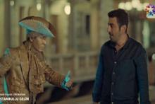 İstanbullu Gelin dizisinde 'Come To Beşiktaş' sahnesi
