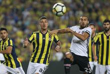 Fenerbahçe Beşiktaş maçı fotoğrafları