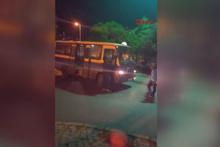 Minibüslerin yolcu kapma yarışı kazayla sonuçlandı