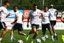 Beşiktaş Leipzig maçı hazırlıklarına başladı