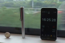 Dünyanın en hızlı treninde sarsıntı deneyi!