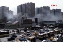İstanbul Şirinevler-Ataköy metrosunda yangın çıktı