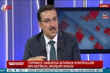 Bakan Tüfenkci'den Habur açıklaması