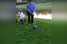 Golf sahasında vahşet: Bunu yapan insan olamaz!