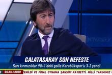 Galatasaray'a Karabükspor maçında Rıdvan Dilmen'den uyarı: 'Çok ciddi...'