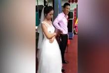 Kocası onu zorla öpmek istedi kadın bir anda delirdi ve...
