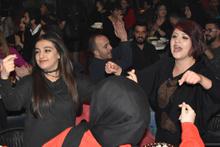 Konya'da yeni yıl dua ve eğlenceyle kutlandı