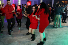 Yılbaşını Van'da kutlayan İranlılar kendilerinden geçti