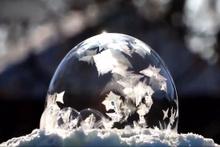 -35 derecede donan baloncuğun muazzam görüntüsü