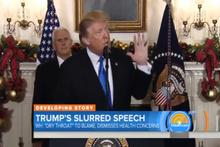 Dili sürçen ABD Başkanı Trump alay konusu oldu