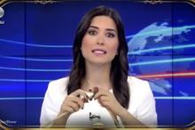 Beyaz Show'da Kanal D Haber spikeri Gözde Atasoy'u güldüren skeç