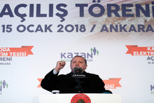 Erdoğan: 'Türk Silahlı Kuvvetlerimiz, en kısa sürede Afrin ve Münbiç meselesini Allah'ın izniyle...