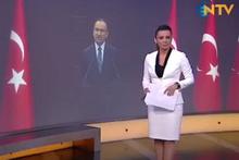 NTV'nin spikeri, Bozdağ haberini sunarken zor anlar yaşadı