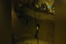 Oto teyp hırsızlarına mahalleliden linç girişimi