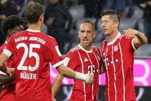 Bayern Münih kazanmaya devam ediyor
