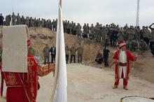 Mehter Takımından sınırın sıfır noktasındaki askerlere moral konseri