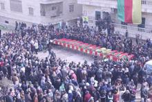 Afrin harekatından sıcak görüntü: PYD cesetleri sıralandı!