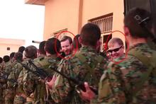 İşte, YPG kampındaki amerikan askerleri!
