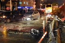 Kontrolden çıkan yolcu otobüsü karşı şeride geçti: 6 yaralı
