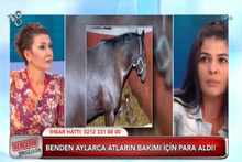 At alma bahanesiyle dolandırılan genç kız, canlı yayına çıkıp yardım istedi
