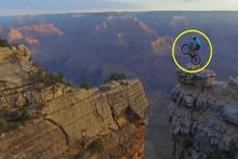 ABD Grand Kanyon'da akıl almaz bir gösteri