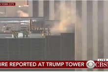 New York'taki Trump Tower'da korkutan yangın!