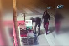 Ekmek kasası hırsızları kamerada