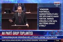 Cumhurbaşkanı Erdoğan: Partimiz adına söz söyleme hakları yok