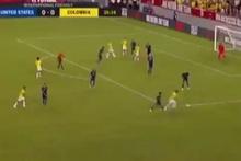 Böyle falso görülmedi! Rodriguez'den klas gol