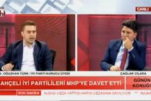 İYİ Partili Oğuzhan Türk canlı yayında partisinden istifa etti!