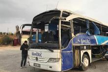 Kahramanmaraş'ta yolcu otobüsü devrildi! Ölü ve yaralılar var