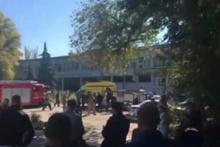 Kırım'da büyük patlama! Çok sayıda ölü ve yaralı var