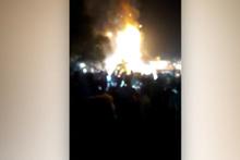 Tren kazasından onlarca kişi hayatını kaybetti