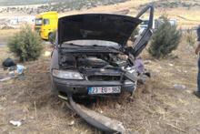 Takla atan otomobildeki anne ile bebeği öldü