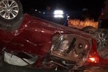 Kayseri'de korkunç kaza 4 can aldı