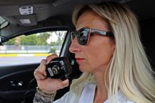 Antalya'da sarışının radarı giren sürücüler şaşkına dönüyor