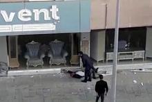 Erzurum'da trafik magandası dehşet saçtı!