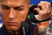 Saatini göstermek isteyen Ronaldo'nun canı çıktı! Tam 14 milyon lira...