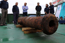 Didim'de 18. yüzyıldan kalma savaş gemisi bulundu! İçinden çıkanlara bakın